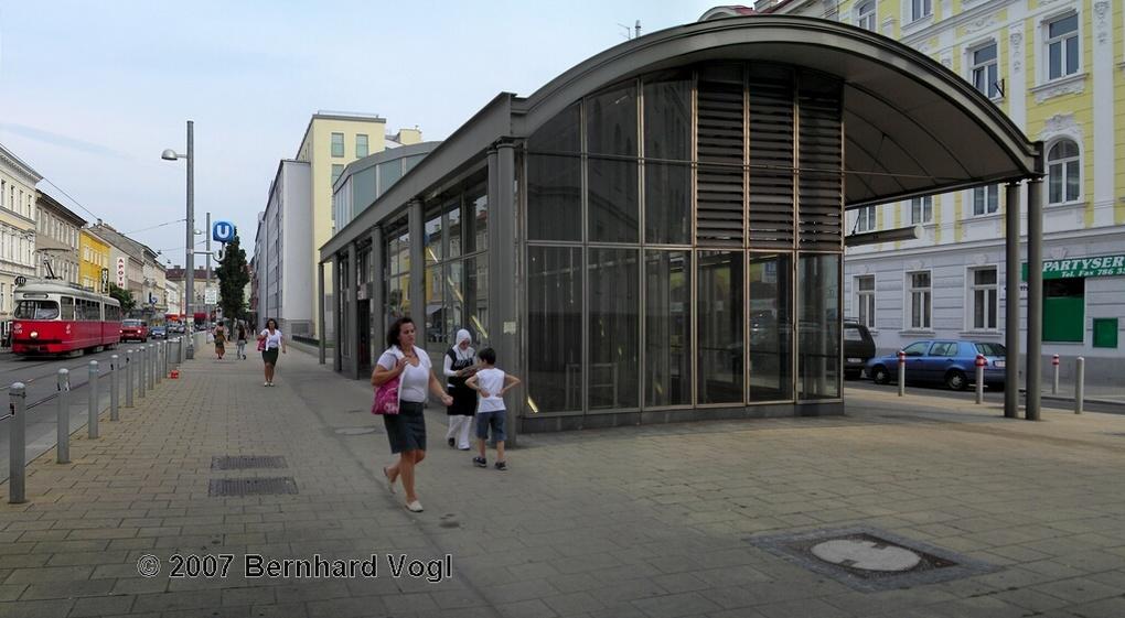 Homepage Bernhard Vogl U Bahn Stationen Wien Subway Stations